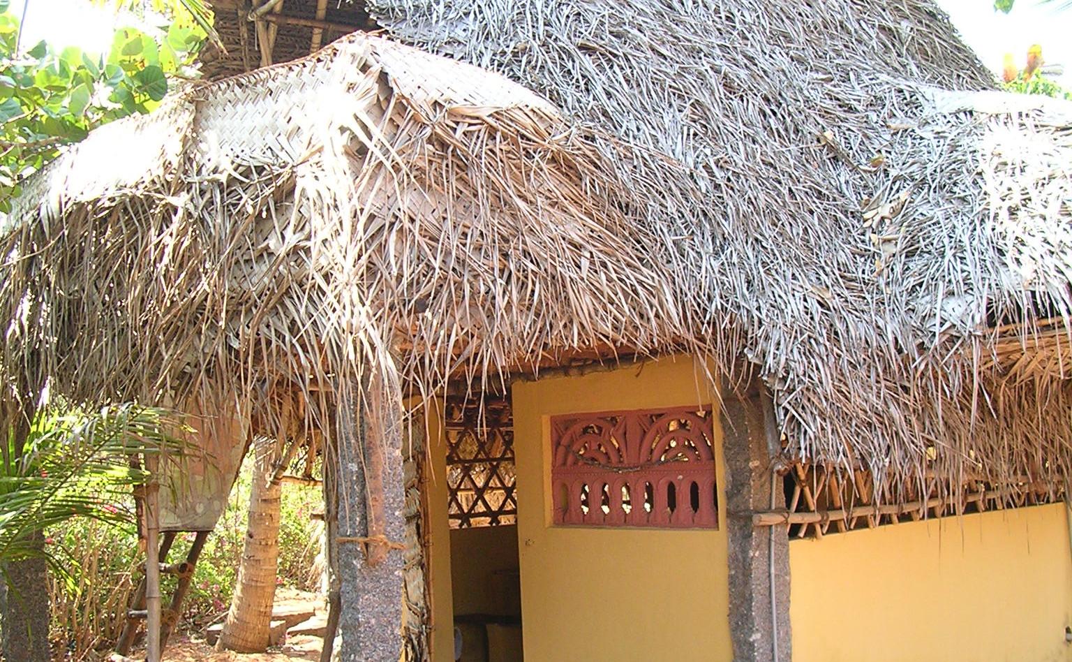 Eine Unterkunft in Auroville