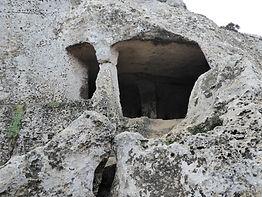 Hypogeum in Menorca. Graveyard home where we meditate. Spiritual Travel with Maha Metta