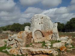 Grab. Roque Ses Llises. Menorca