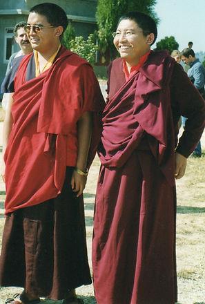 Tsoknyi Rinpoche and Mingyur Rinpoche