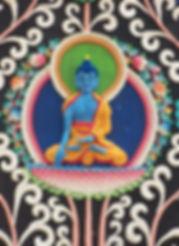 Torma Medicine Budha, Bodhgaya. India. Buddhistisches Meditation Seminar mit Mahametta
