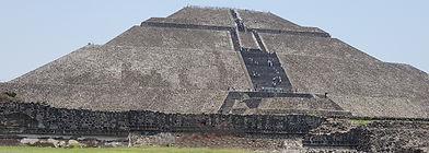 Pyramid of Teotihuacan. Mahametta Travels