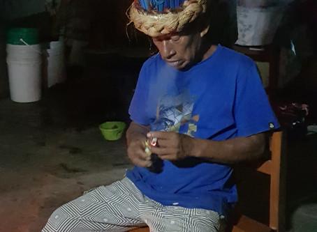 Una ceremonia de Ayahuasca con un chamán indígena