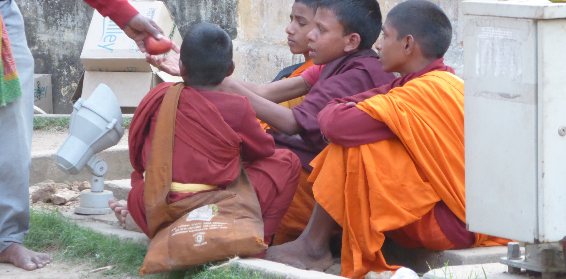 Beggars in Bodhgaya