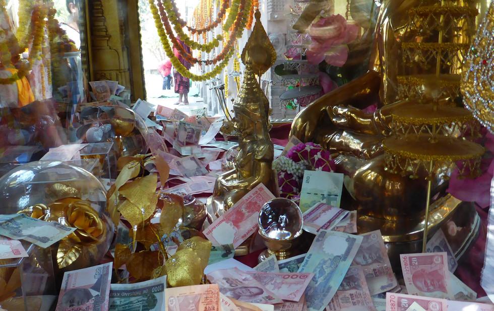 Gabe für Buddha