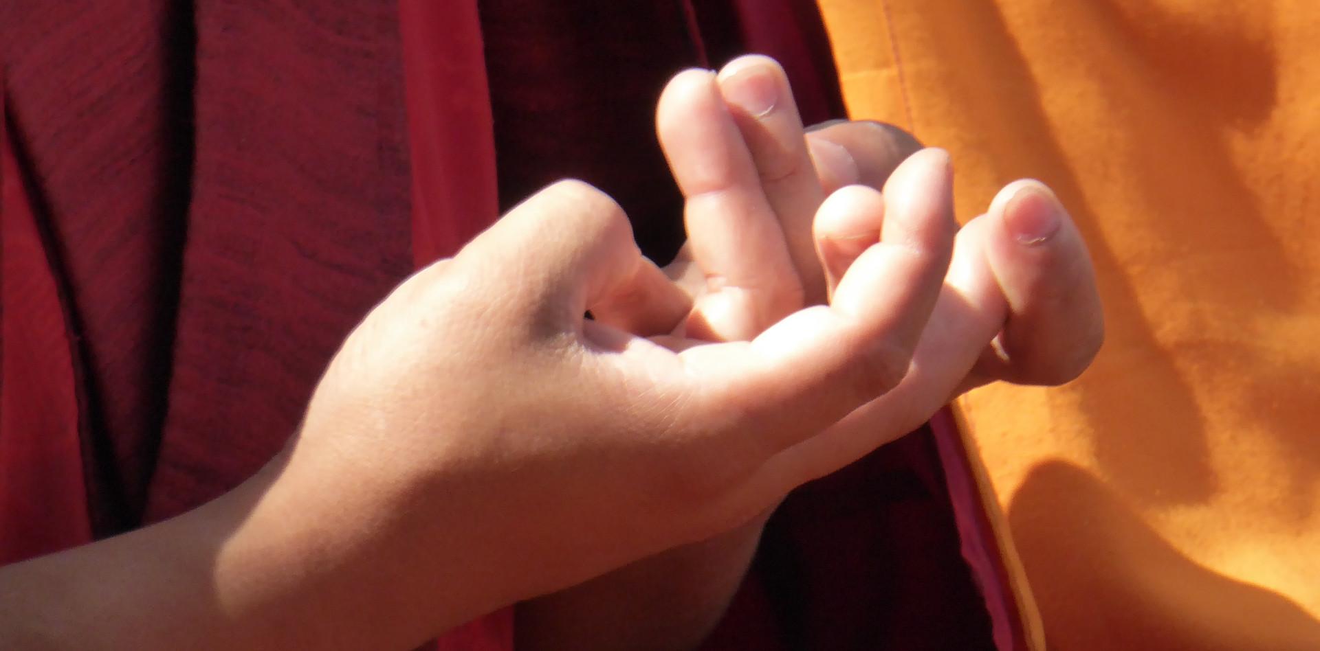 Tibetan Mudra