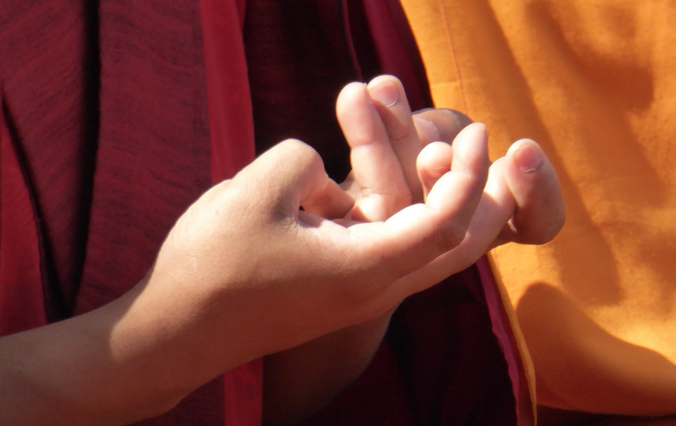 Tibetische Mudra