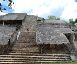 Pyramid of Ek Balam. Mahametta Travels