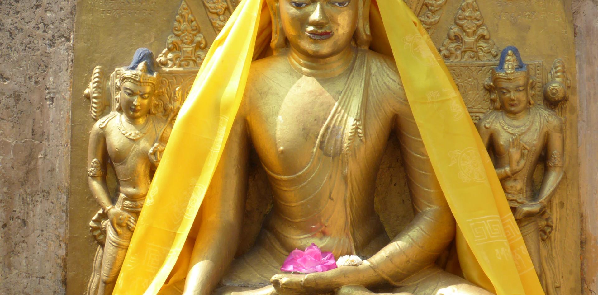 Buddha Statue in Bodhgaya