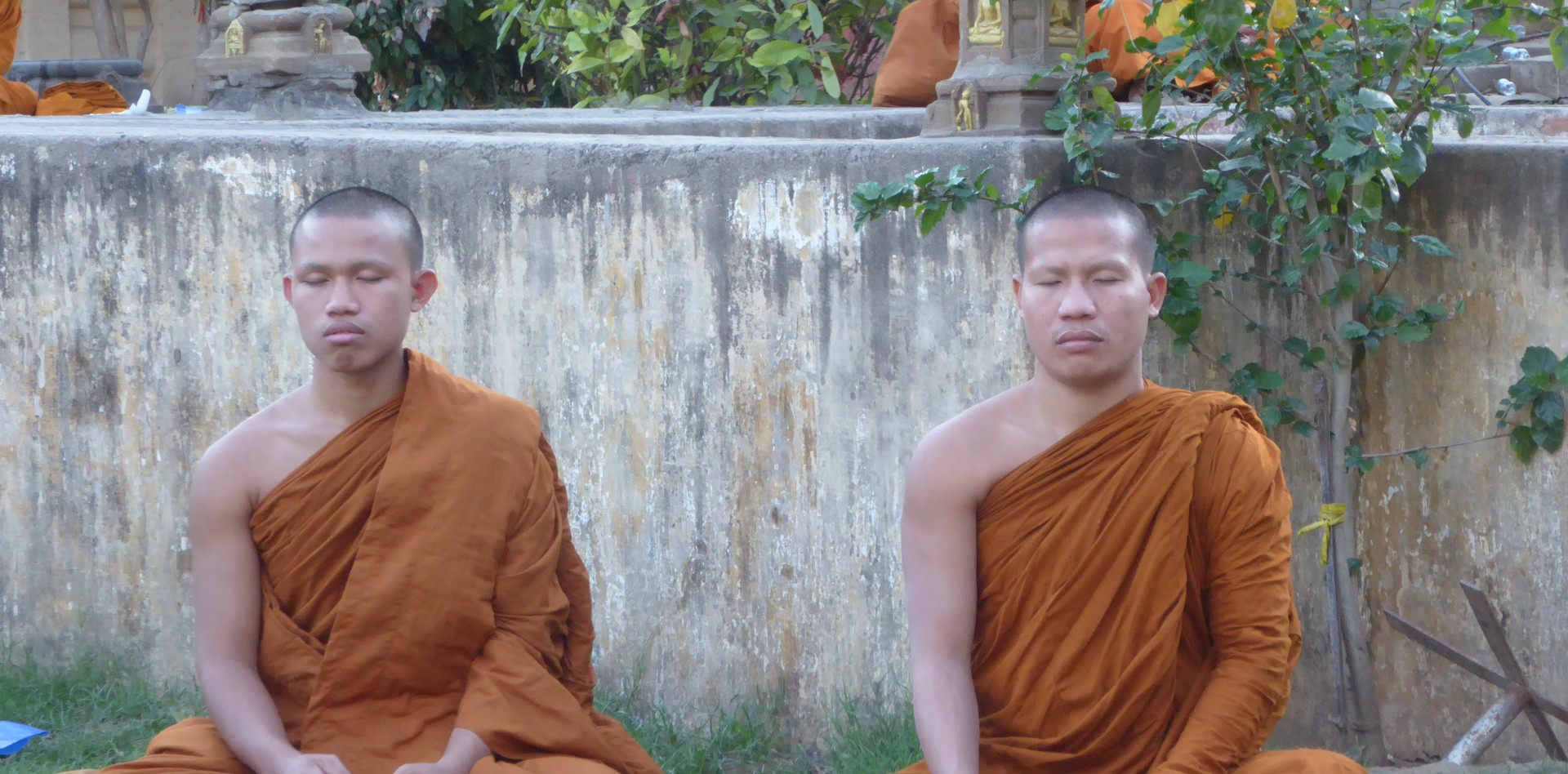 Monks from Thailand