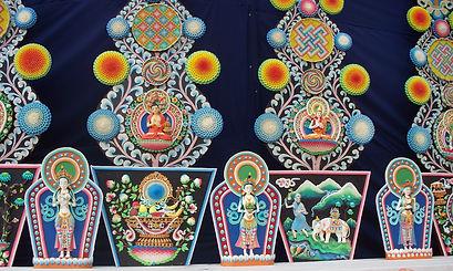 Torma Kagyu Monlan en Bodhgaya. Taller de meditación budista con Mahametta Akademie