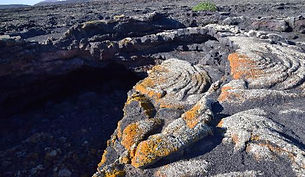 Volcanic lava in Lanzarote. Shamanic Retreat with Maha Metta and Geoviva in December