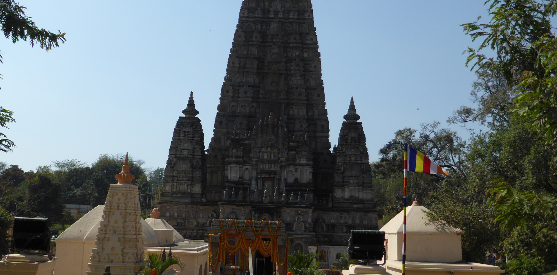 The main Stupa in Bodhgaya