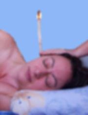 Hopi Ohrkerzen Behandlung. Wellness Massagen mit May in München