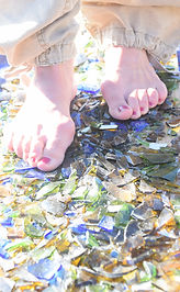 Walking on glass at the Shamanic Retreat in Lanzarote with Maha Metta and Geoviva in December