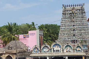 Vaitheeswarankoil Tempel gewidmet Shiva als Heiler. Spirituelle Reisen MahaMetta