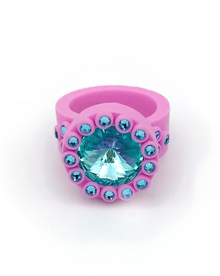 Riice ~ Bague Cotton Candy