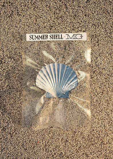 Mathilde Gullaud ~ Seashell bleu océan