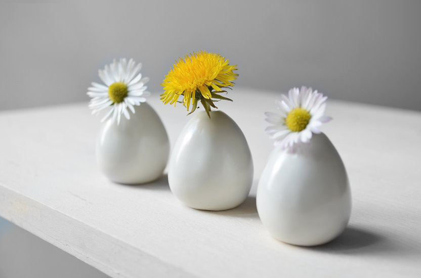 Monochromatiques ~ 3 vases