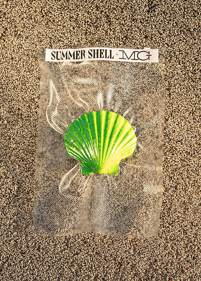 Mathilde Gullaud ~ Seashell Blue/green