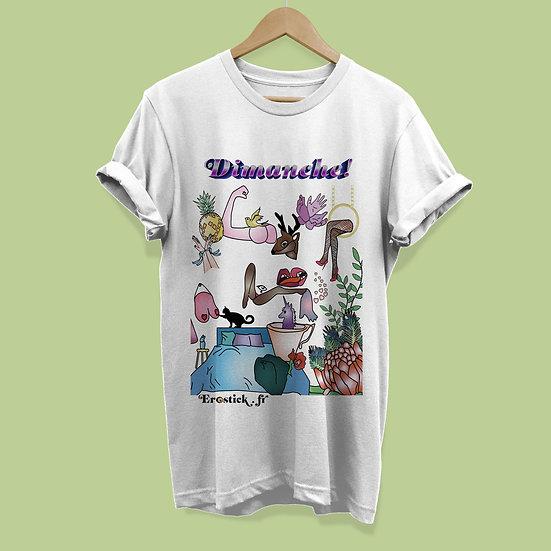 Erostick ~ t-shirt shirt dimanche
