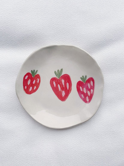 Zoé Jane ~Plat fraise