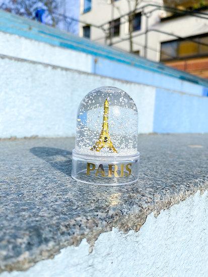 Couleurs Paris ~ Boule à neige Tour Eiffel