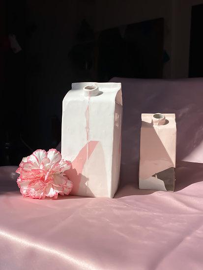 Lou Dervieux ~ Brique de lait fraise