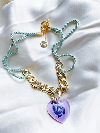 Loe ~ Collier True Love lilas