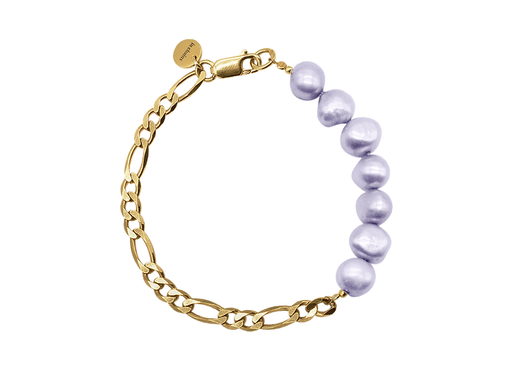 In Chains Jewelry ~ Perlengold Sea Gold lilas