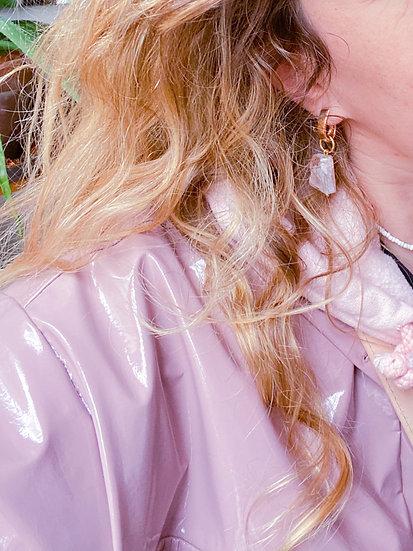 La Fabrique d'Antoinette ~ Cristal de roche rose