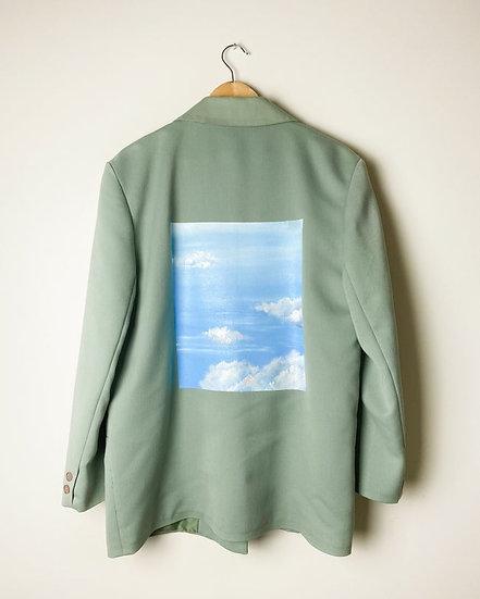Nuée ~ Le blazer vert