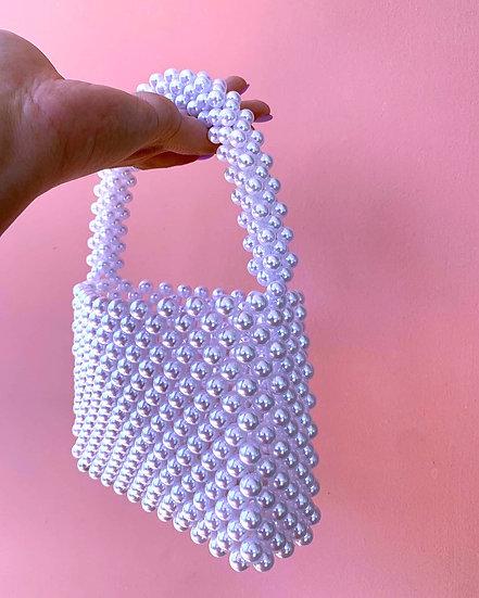 Valentina ~ Pearls handbag