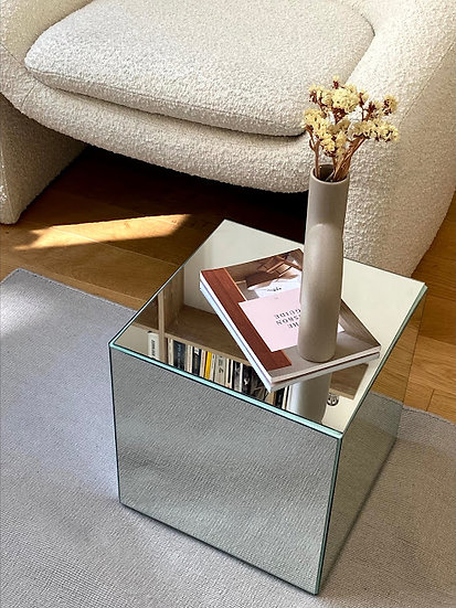 Ødéon ~ Small cube mirror