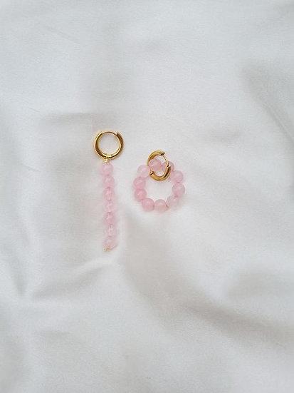 Maison Kurage ~ Boucle flamant rose