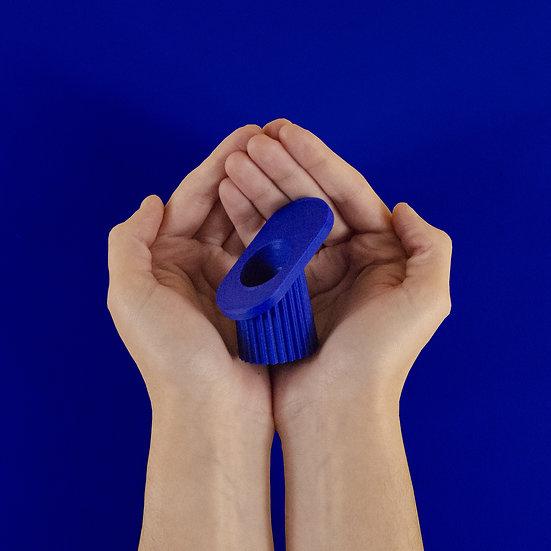 Valentin Lebigot ~ Bougeoir Lum bleu