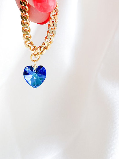 Loe ~ Bague Chantal blue