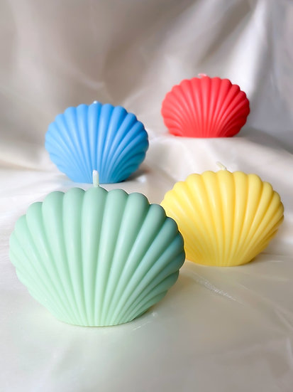 Couleurs Paris ~ Bougie Seashell