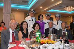 FRANCES NGUYEN THE-THUY & MR & MRS TRAN MINH CONG - DR NGUYEN VAN CANH - POLICE OFFICERS 2016