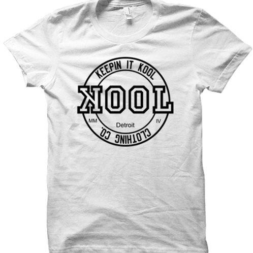 Kool Look Tee (White/Black)