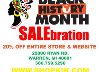 BLACK HISTORY SALEbration!!