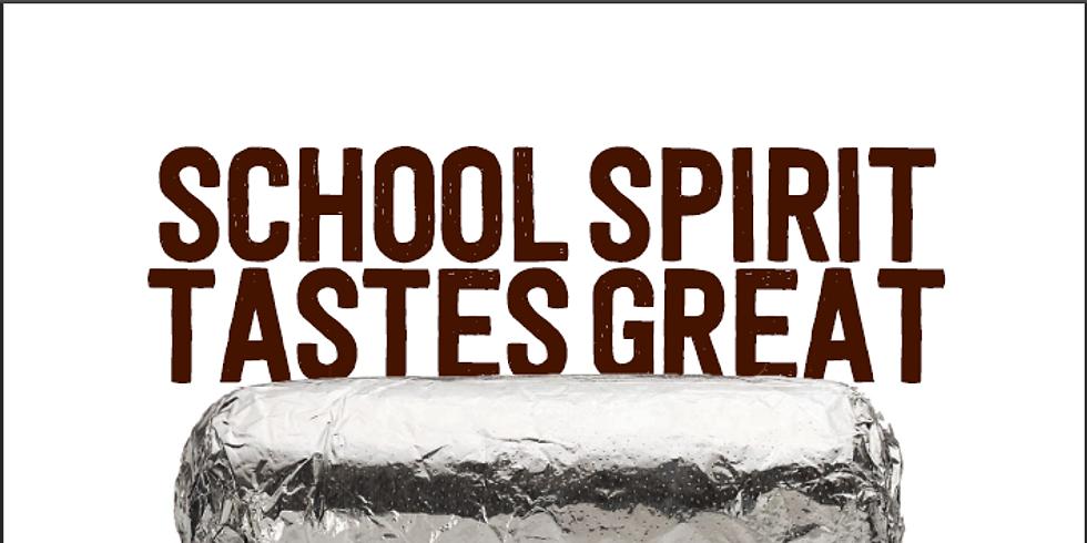 School Spirit Tastes Great with Chipotle!