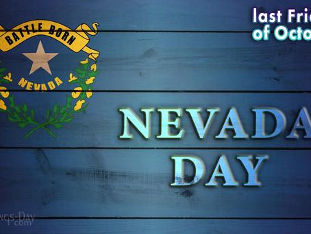 October 30: NO SCHOOL--Nevada Day
