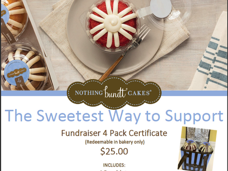Nothing Bundt Cakes Fundraiser!