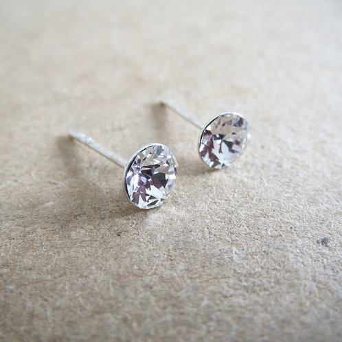Swarovski Stud - Crystal