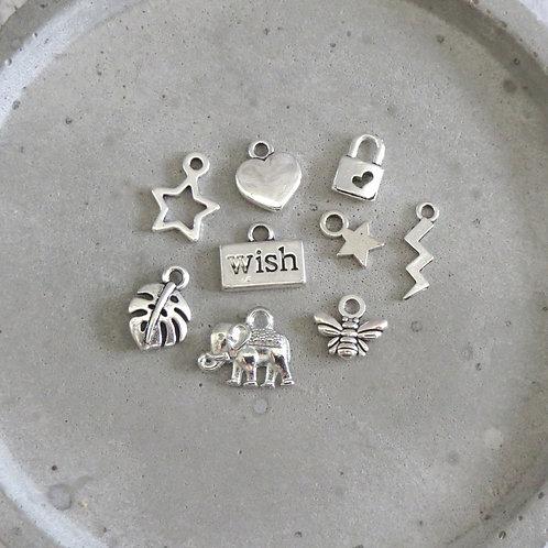 Wish Bracelets - tibetan silver