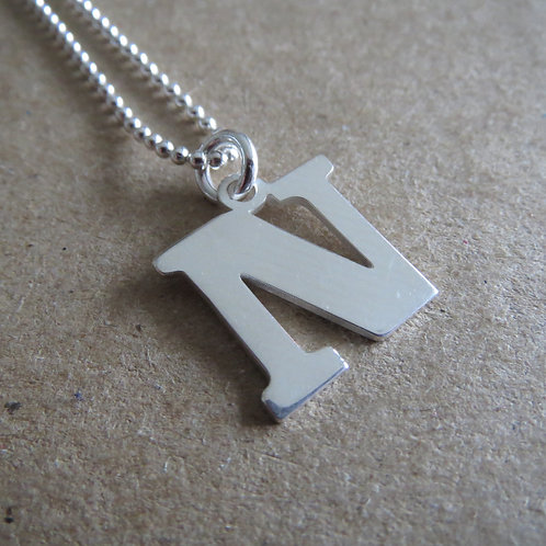 Initial Necklace N-Z