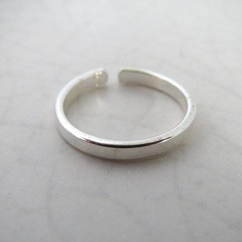 Plain Band Toe Ring