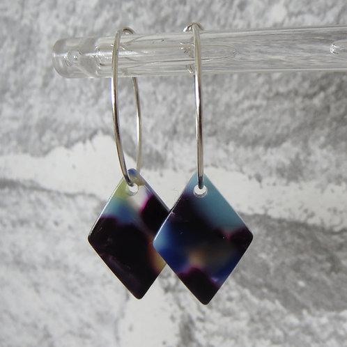 Acrylic Diamond Hoop