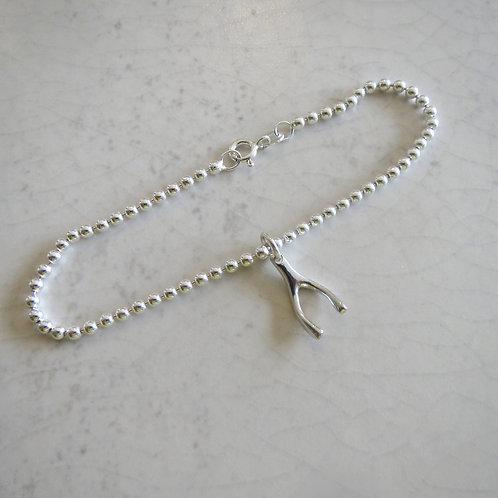 Wishbone Ball Bracelet